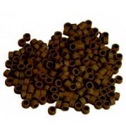 Micro ring hnědá  Průměr 4 mm/ 100 ks