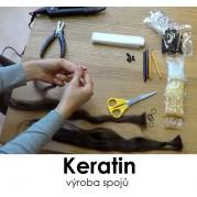 Video kurz výroba spojů keratin