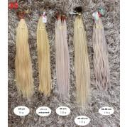České vlasy - blond odbarvené (35)