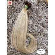 České vlasy - blond odbarvené (36)