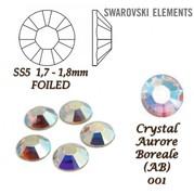Kamínek Swarovski duhový 1,4mm