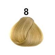 Středoevropské vlasy barva č.8