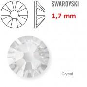 1ks kamínek na zuby Swarovski čirý 1,7mm