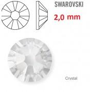 1 ks kamínek na zuby Swarovski čirý 2mm