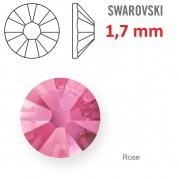 1 ks kamínek na zuby Swarovski růžový 1,7mm