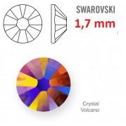 1 ks kamínek na zuby Swarovski volcano 1,7 mm