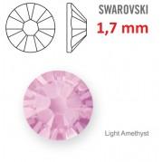 1 ks kamínek na zuby Swarovski světle řůžový 1,7mm