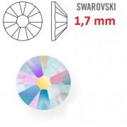 1 ks kamínek na zuby Swarovski duhový 1,7mm