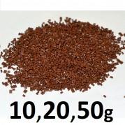 Italský Keratin HNĚDÝ 10,20,50g - granule pro metodu Keratin